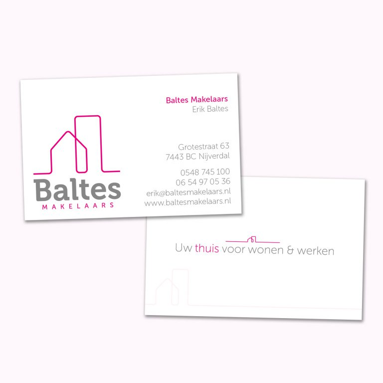 Ontwerp logo Baltes